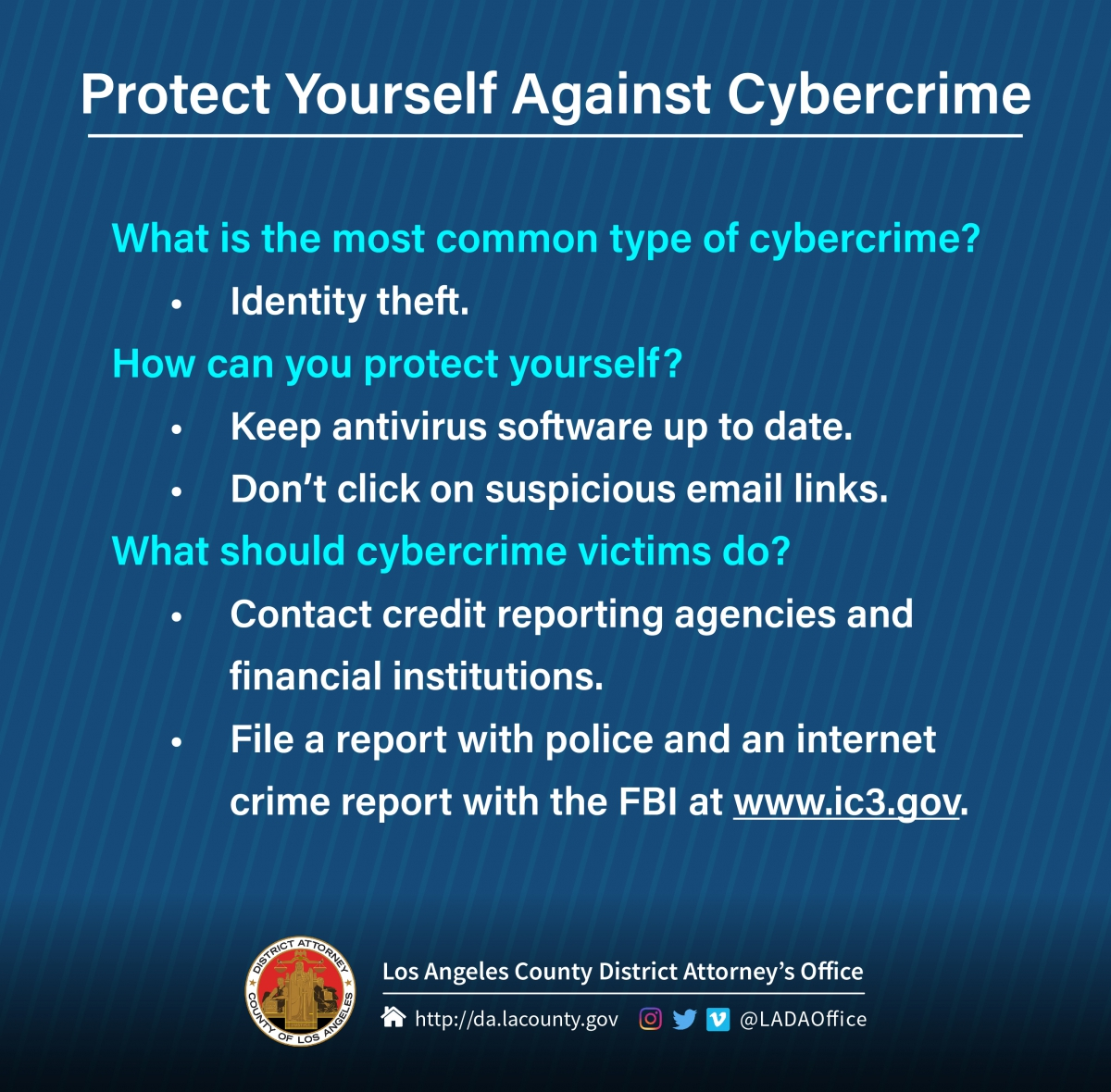 Cybercrime tips