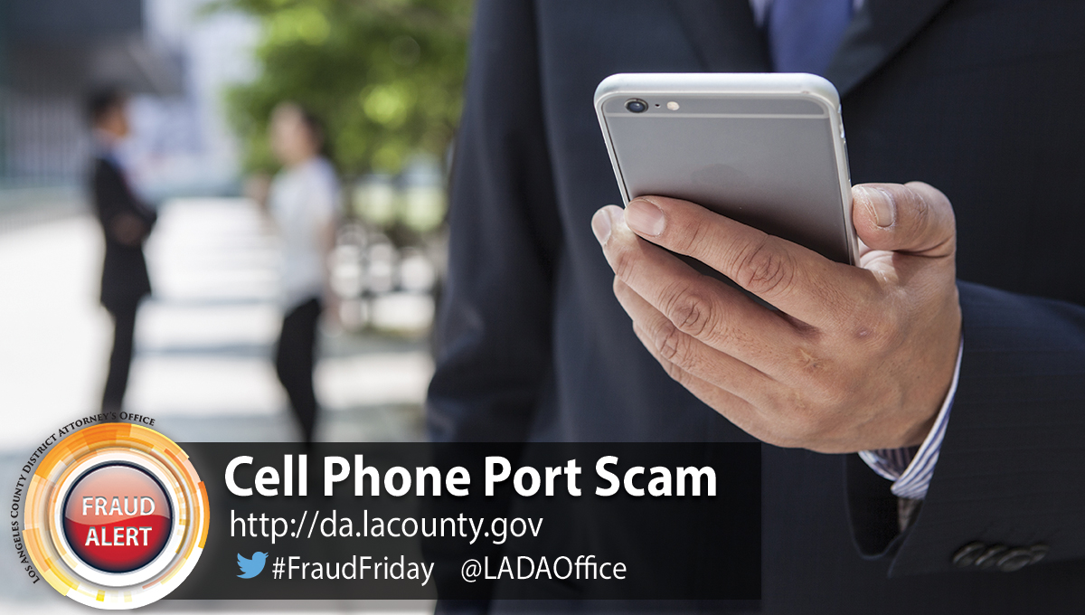 Image of Cell Phone Port Scam Graphic