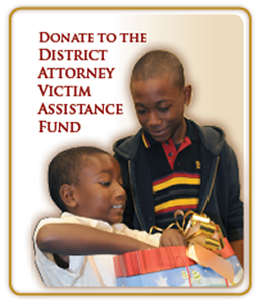 Donate to the District Attorney Victim Assistance Fund