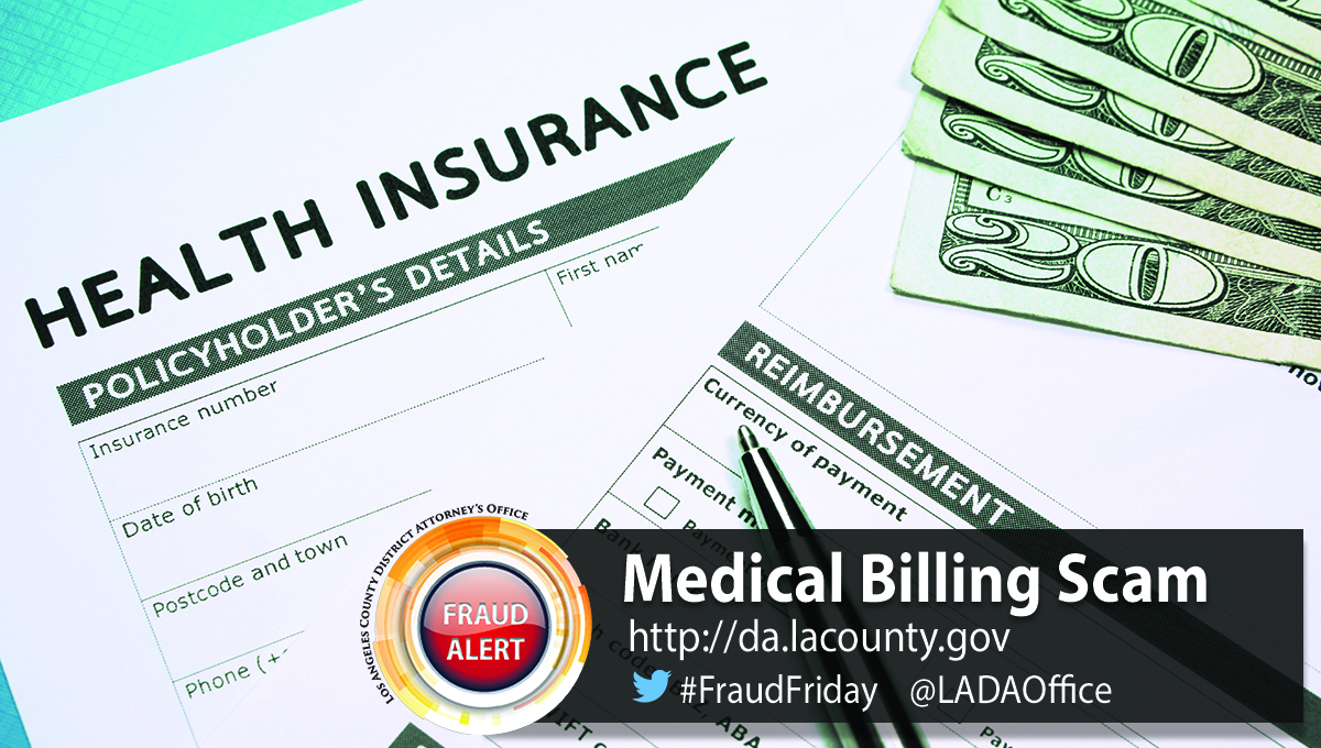 Medical Billing Scam graphic