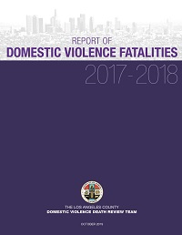 Report of Domestic Violence Fatalities 2017-2018 Cover