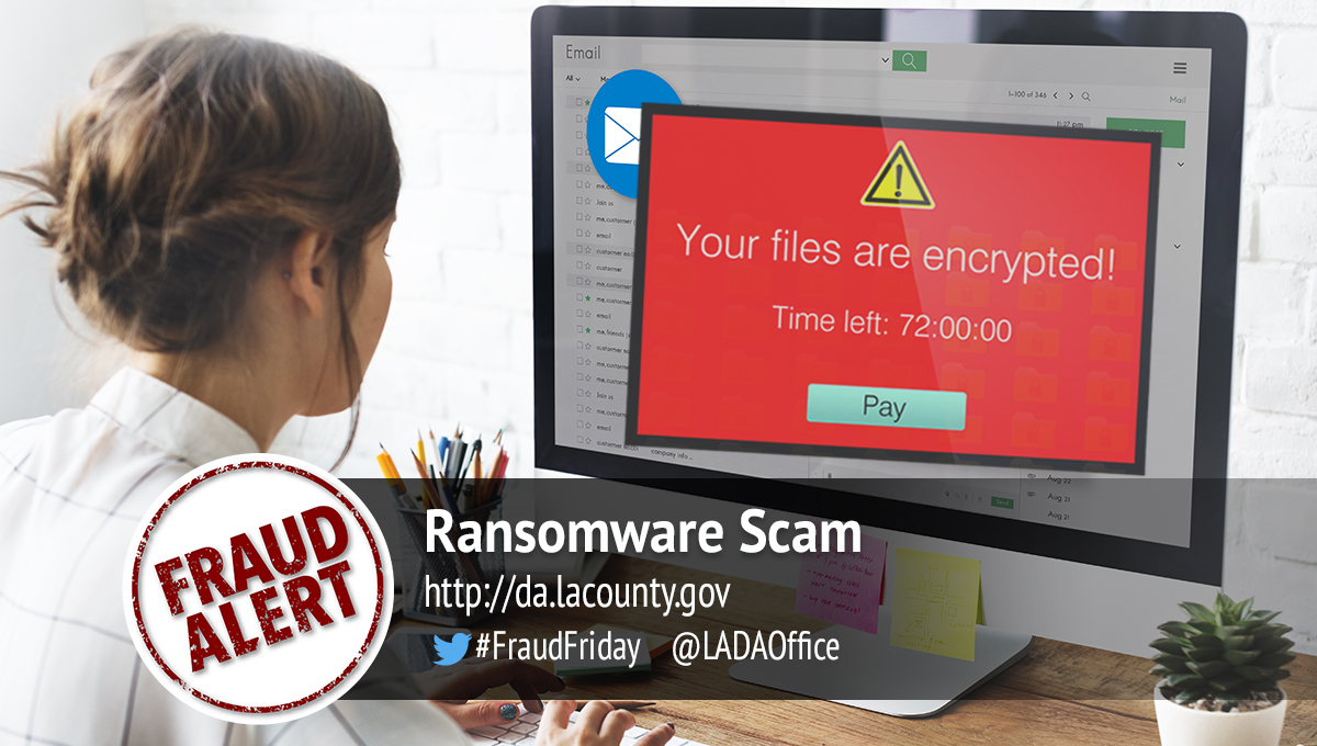 Ransomware Scam Graphic