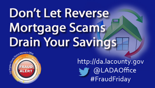 Graphic image Don't Let Reverse Mortgage Scams Drain Your Savings